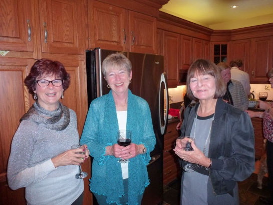 Bonnie's Book launch with friends 015