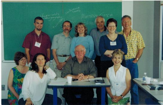 Alistair MacLeod & 2003 Creativing Writing Class