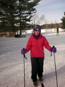 X-country skiing Eastern Townships