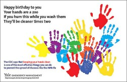 2018 Wash your hands